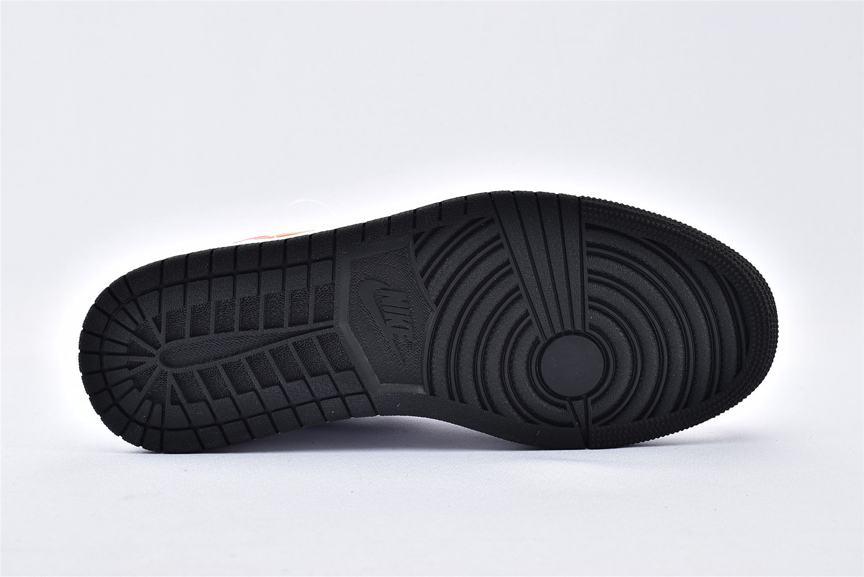 Air Jordan 1 Low Multi Color Swoosh 7