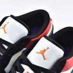 Air Jordan 1 Low Rivals Lakers Top 3 4