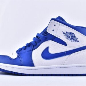 Air Jordan 1 Mid Hyper Royal 1