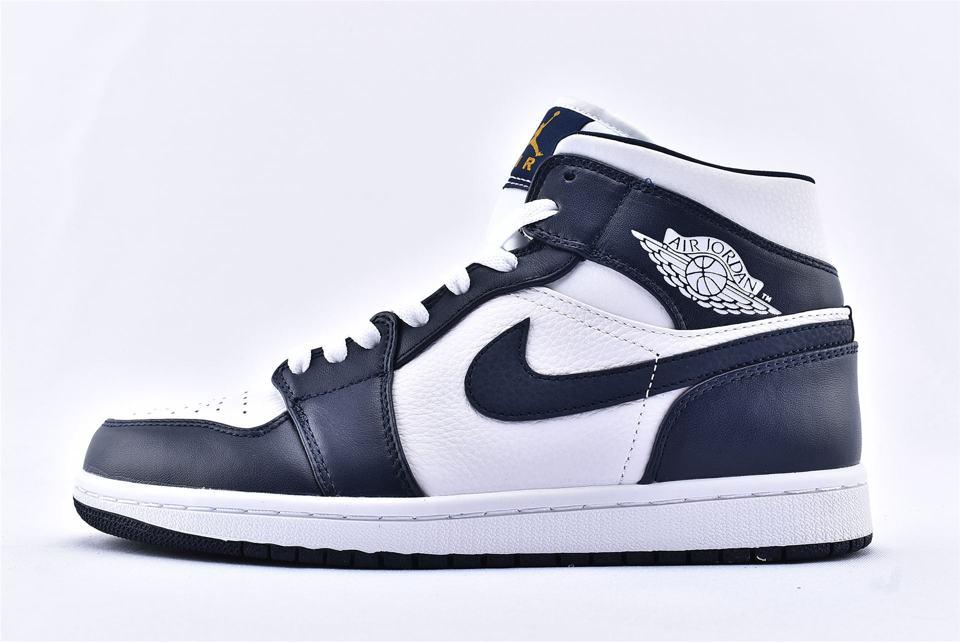 Air Jordan 1 Mid Obsidian 1