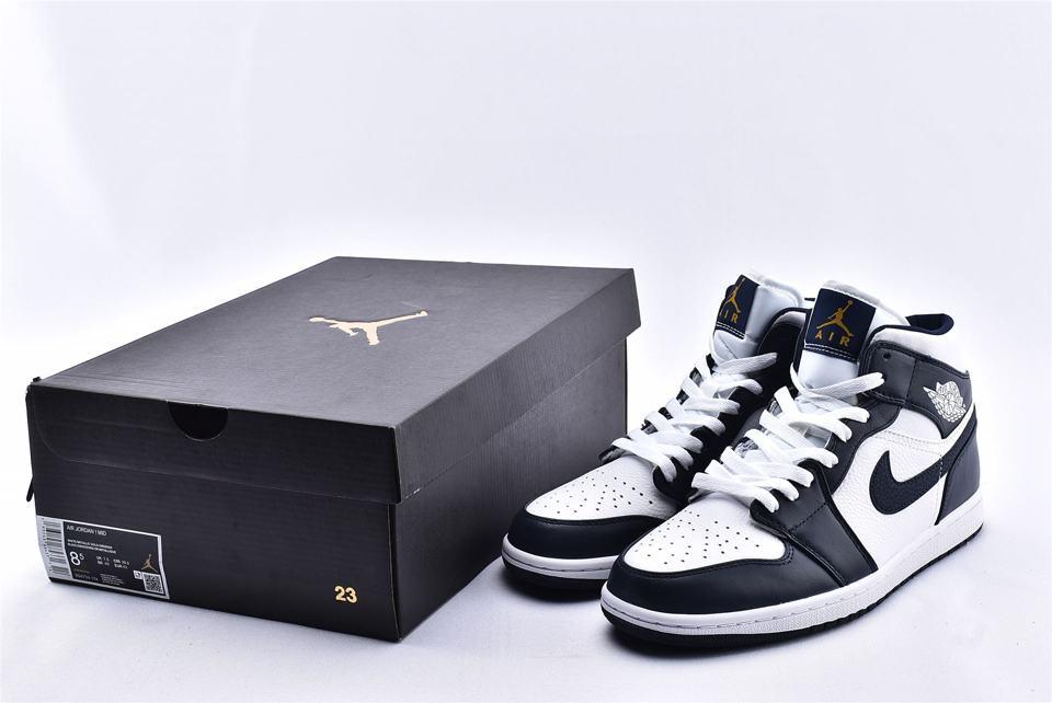 Air Jordan 1 Mid Obsidian 10