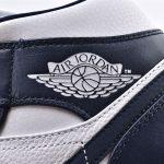 Air Jordan 1 Mid Obsidian 14