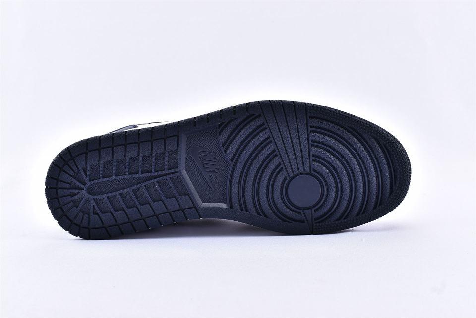 Air Jordan 1 Mid Obsidian 8