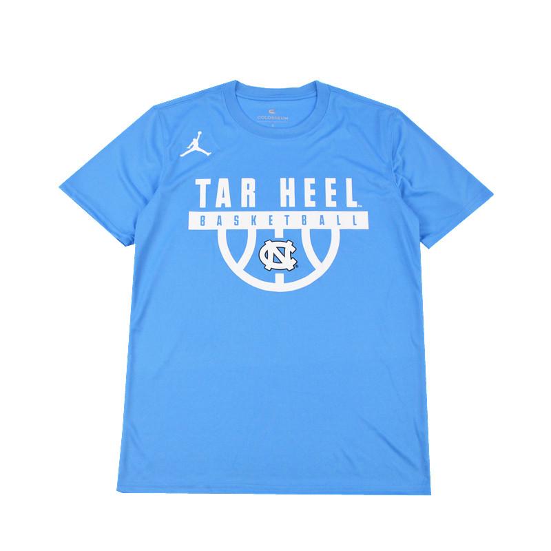 Air Jordan North Carolina Family Blue Training T-Shirt