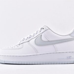 Nike Air Force 1 Low 07 White Metallic Silver 1
