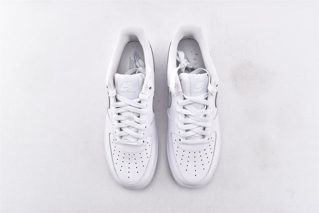 Nike Air Force 1 Low 07 White Metallic Silver 6