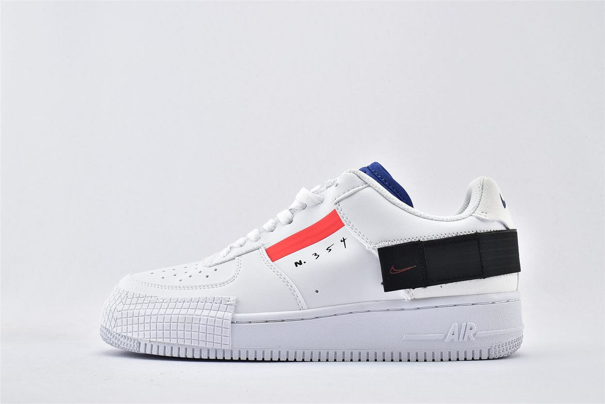 Nike Air Force 1 Low Drop Type GS Summit White 1