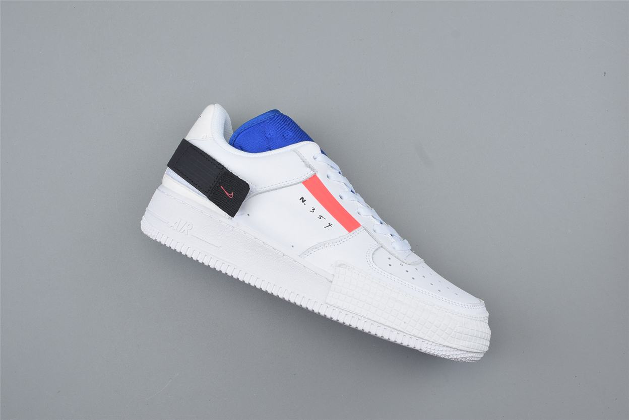 Nike Air Force 1 Low Drop Type GS Summit White 2
