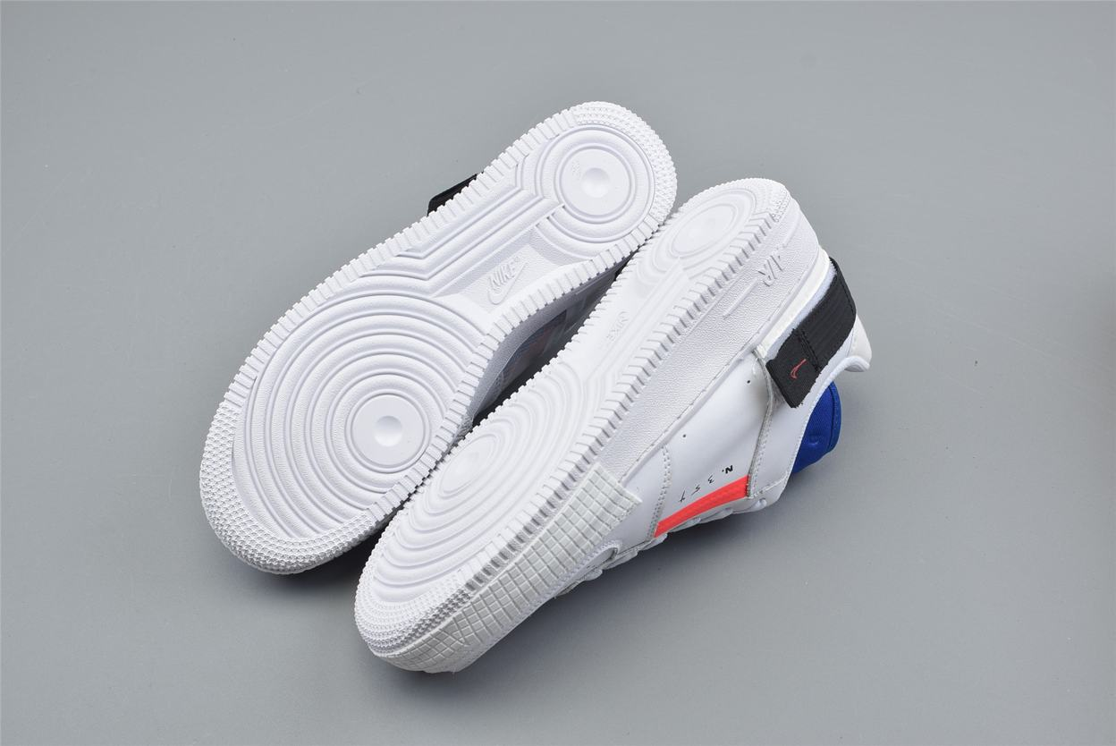 Nike Air Force 1 Low Drop Type GS Summit White 3