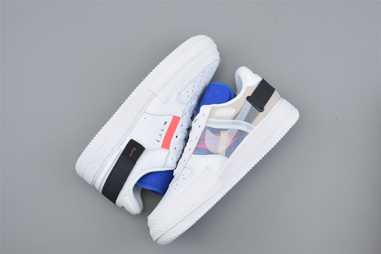 Nike Air Force 1 Low Drop Type GS Summit White 4