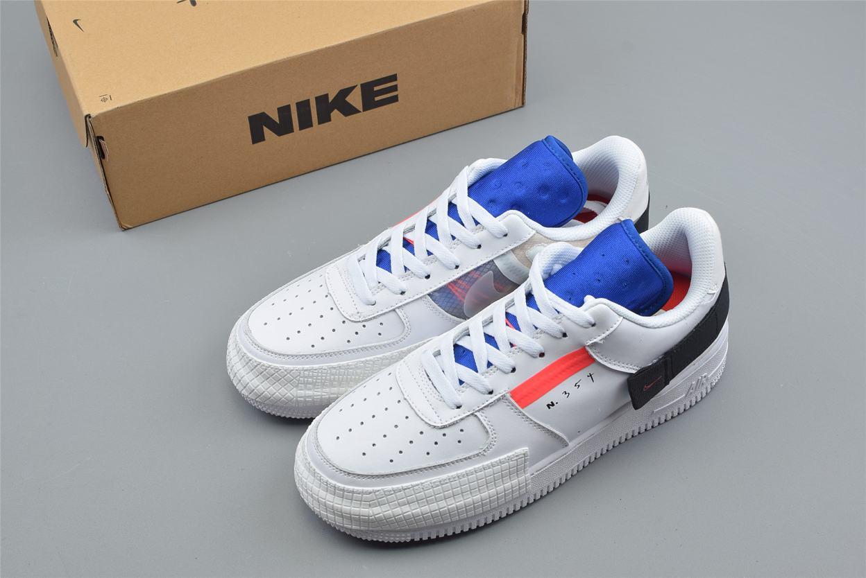 Nike Air Force 1 Low Drop Type GS Summit White 8