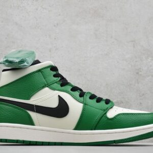 Nike Air Jordan 1 Mid Pine Green 1