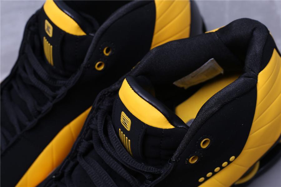 Nike Shox BB4 Black University Gold 10
