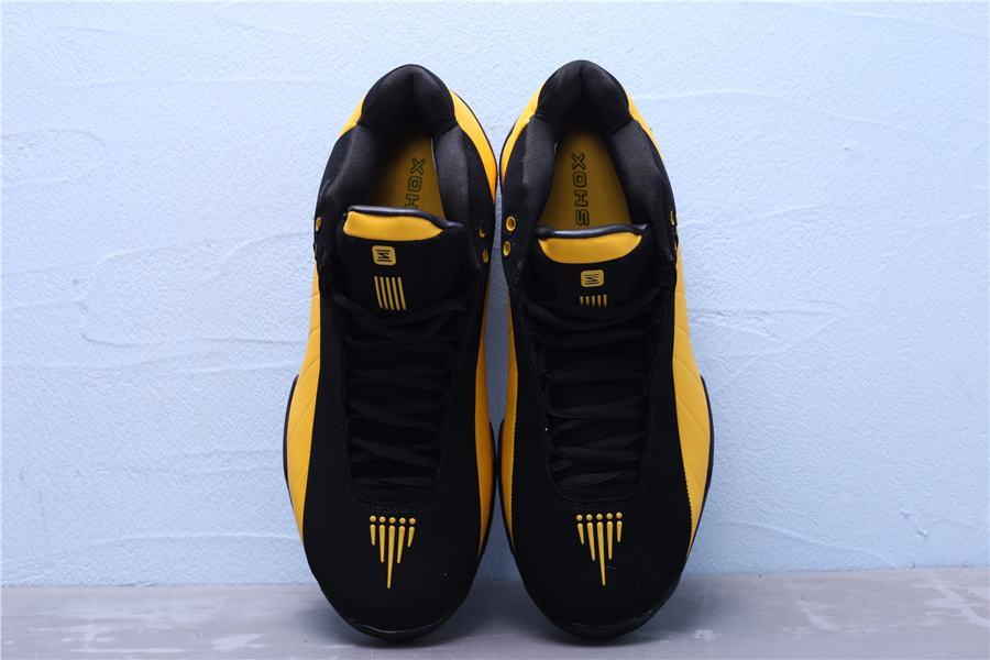 Nike Shox BB4 Black University Gold 12