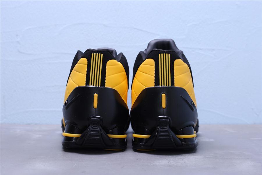 Nike Shox BB4 Black University Gold 2
