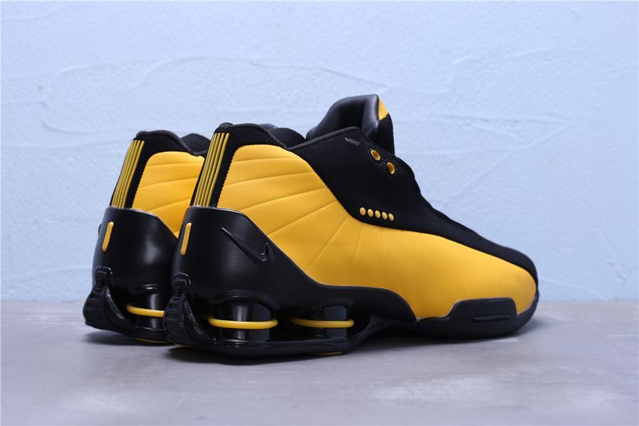 Nike Shox BB4 Black University Gold 3