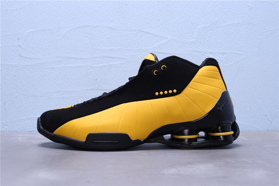 Nike Shox BB4 Black University Gold 4