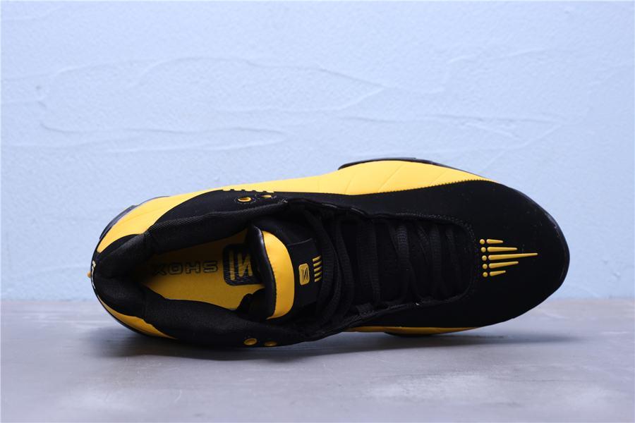 Nike Shox BB4 Black University Gold 6