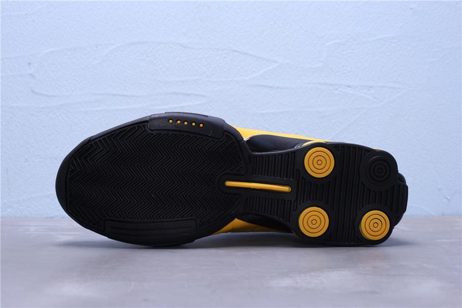 Nike Shox BB4 Black University Gold 7