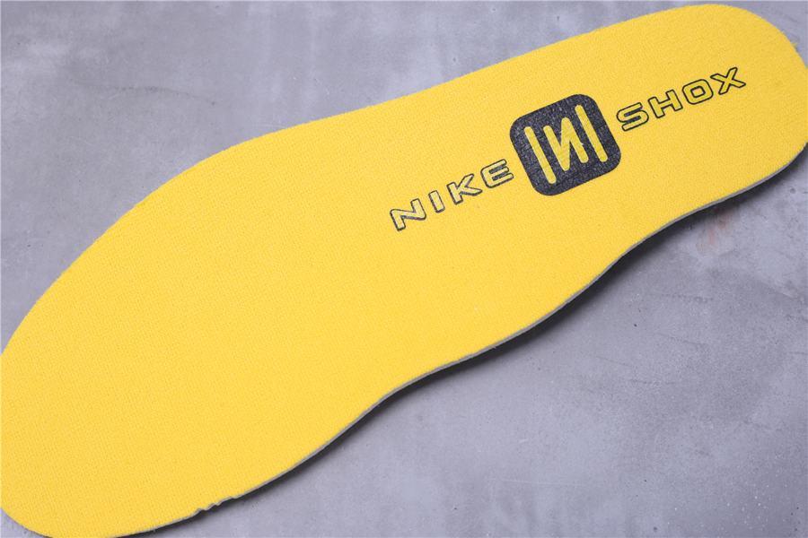 Nike Shox BB4 Black University Gold 8