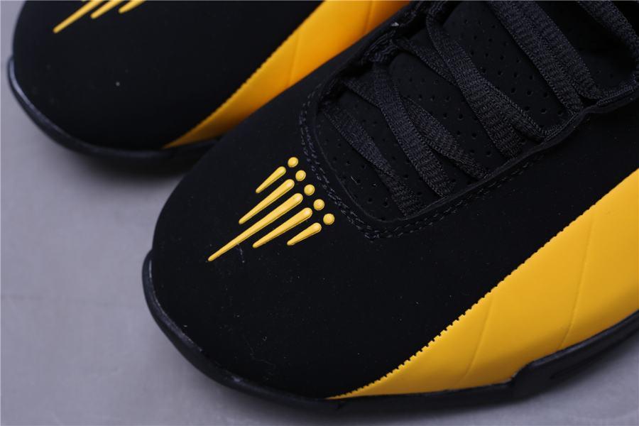 Nike Shox BB4 Black University Gold 9