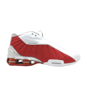 Nike Shox BB4 Metallic Silver Var Red