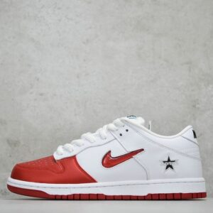 Supreme x Nike Dunk SB Low Varsity Red 1