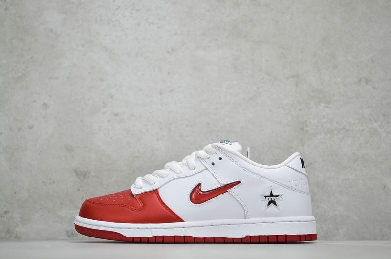 Supreme x Nike Dunk SB Low Varsity Red 1