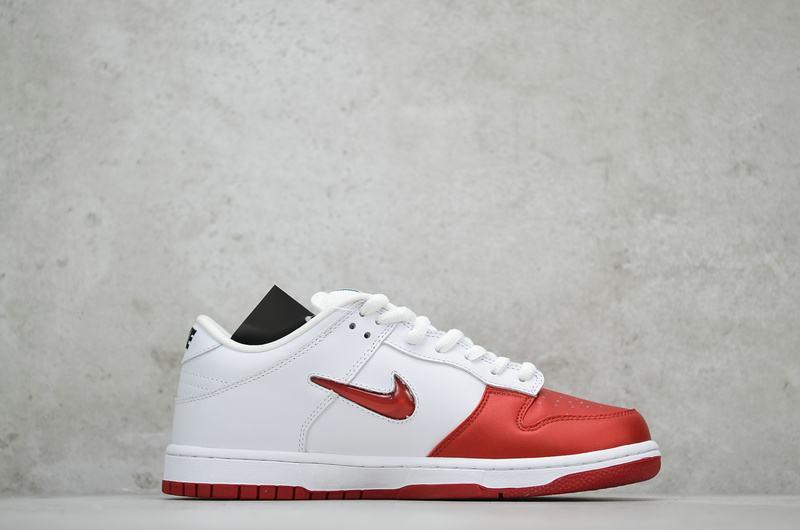 Supreme x Nike Dunk SB Low Varsity Red 2