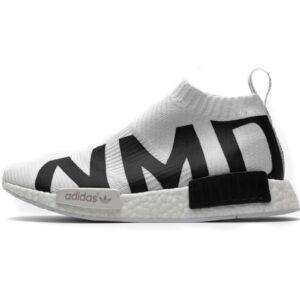 adidas NMD CS1 Primeknit NMD Print White 1