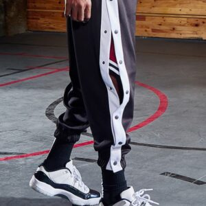 2020 BOK Basketball Button Pants Black 1
