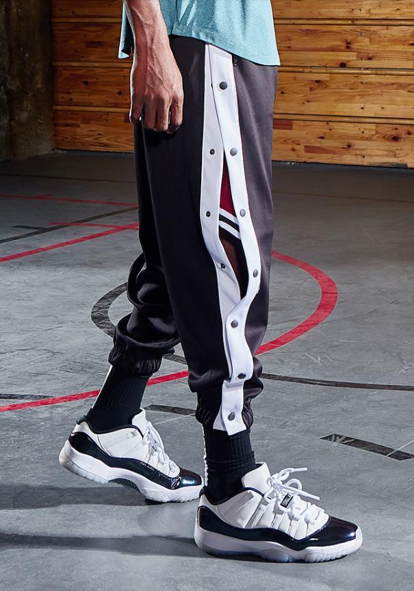 2020 BOK Basketball Button Pants Black 1