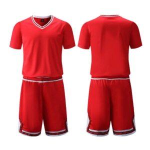2020 Chicago Bulls Red Custom Uniform