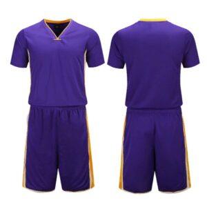 2020 LA Lakers Purple Custom Uniform