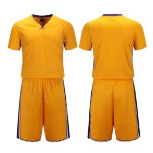 2020 LA Lakers Yellow Custom Uniform