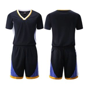 2020 Warriors Black Custom Uniform