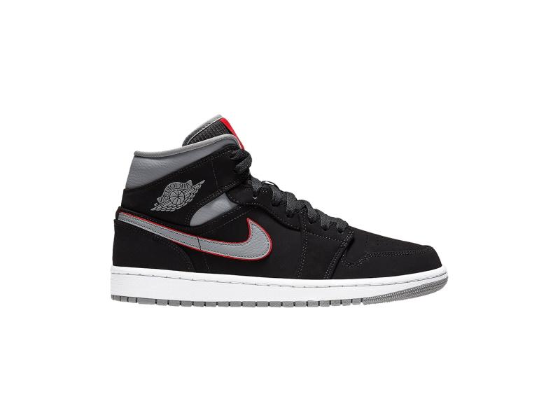 Air Jordan 1 Mid Black Grey