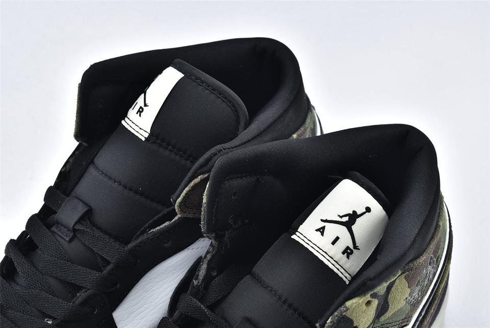 Air Jordan 1 Mid Camo 2020 4
