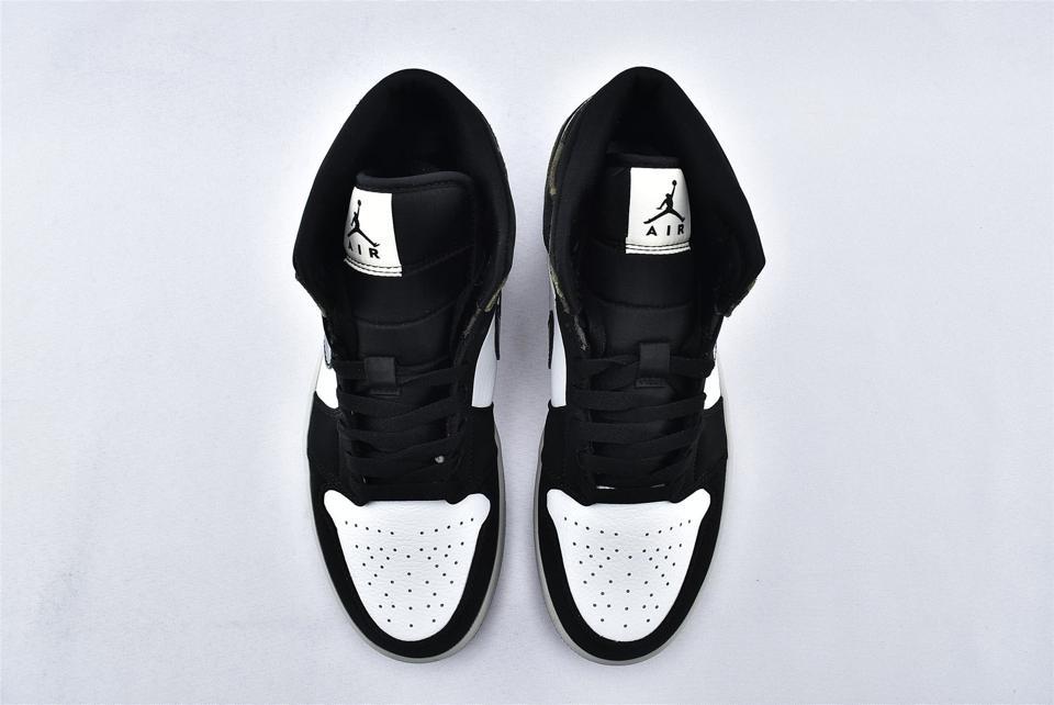 Air Jordan 1 Mid Camo 2020 6