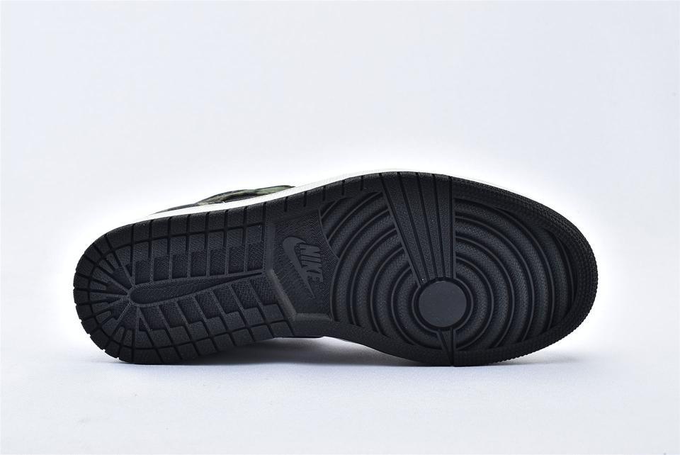 Air Jordan 1 Mid Camo 2020 8