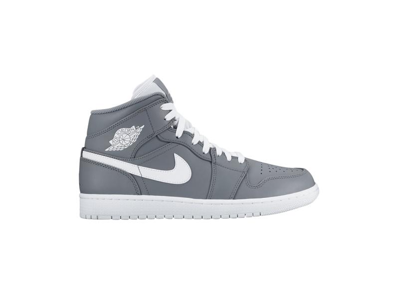 Air Jordan 1 Mid Cool Grey