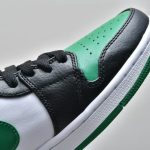 Air Jordan 1 Mid GS Black Pine Green 10