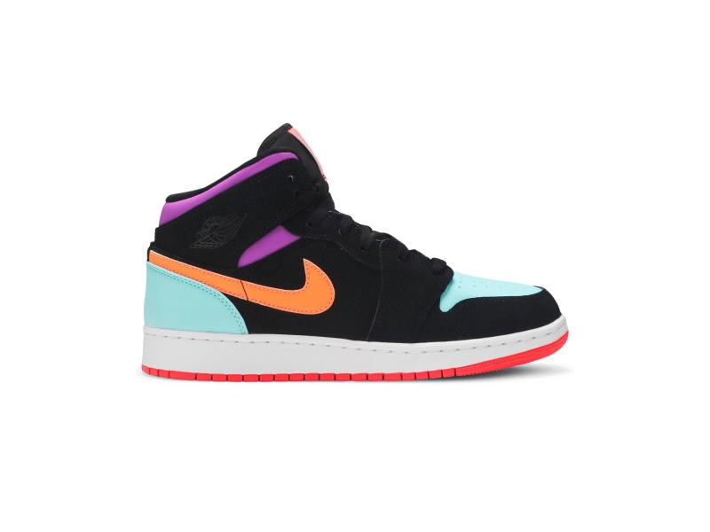 Air Jordan 1 Mid GS Candy