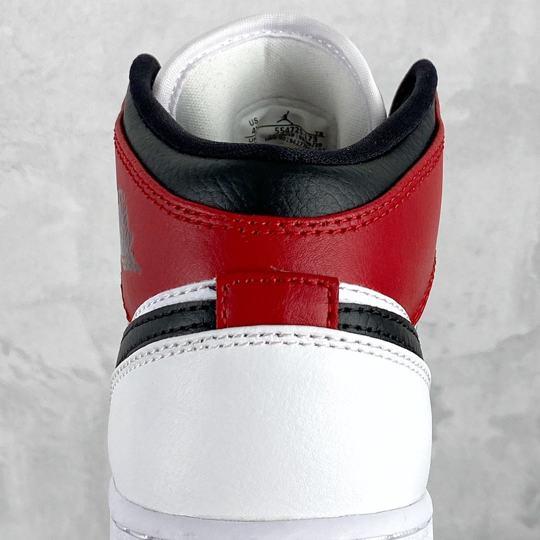 Air Jordan 1 Mid GS Chicago 2020 11