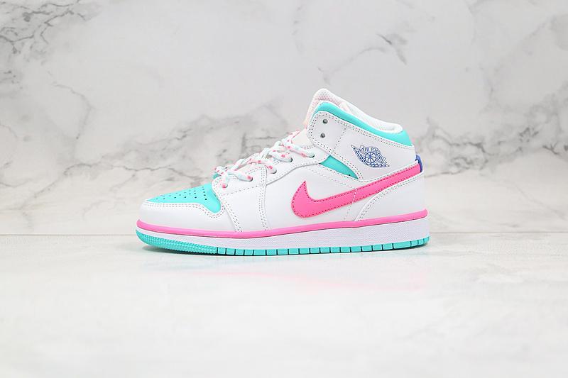 Air Jordan 1 Mid GS Digital Pink 1