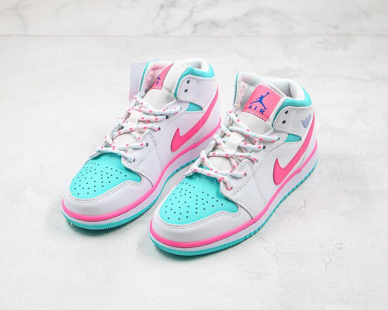 Air Jordan 1 Mid GS Digital Pink 6