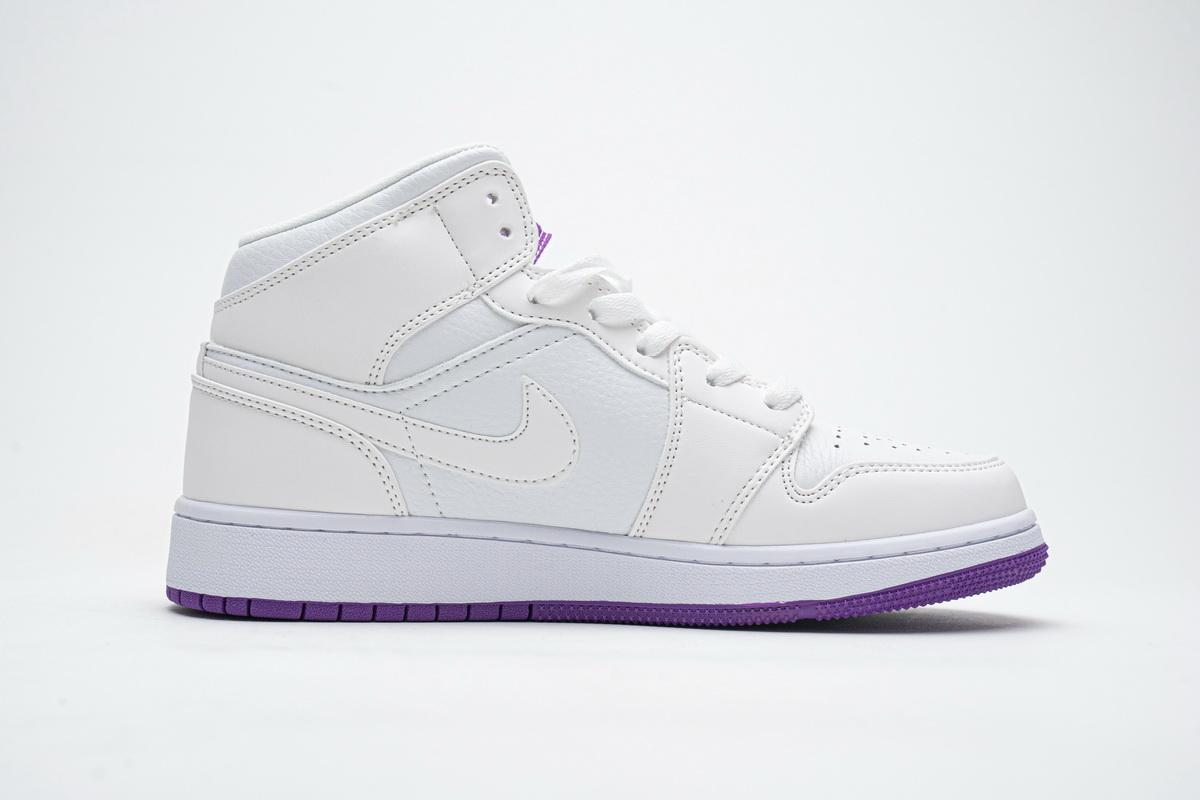 Air Jordan 1 Mid GS Fuchsia 1