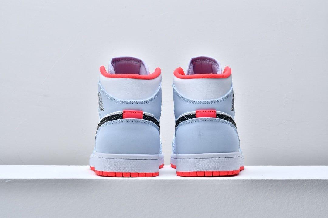 Air Jordan 1 Mid GS Half Blue 5