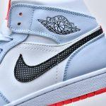 Air Jordan 1 Mid GS Half Blue 7