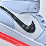 Air Jordan 1 Mid GS Half Blue 8